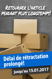 Prolongation du droit de rétractation