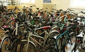 Ein Teil der 2014 gesammelten Bikes