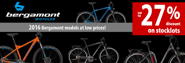 2016 Bergamont models at low prices