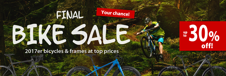 Bike Sale up to 30% off