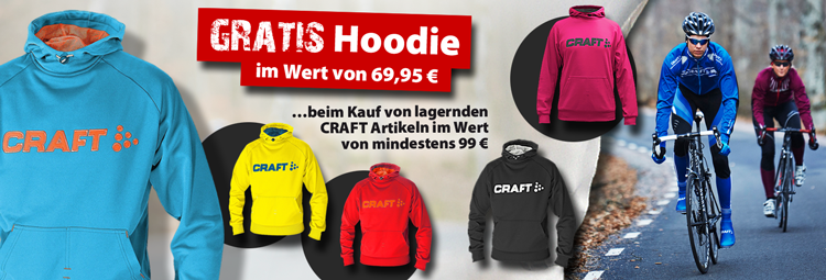 CRAFTIG absahnen mit gratis Craft-Hoodie