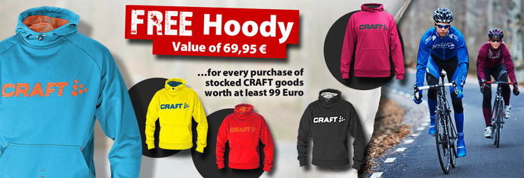 Get on the gravy train with a free CRAFT hoody