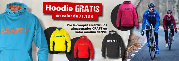 Haz un buen negocio llevando la Craft-Hoodie gratis