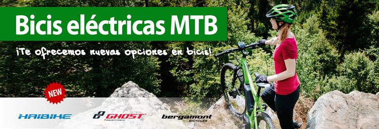 Descubre las nuevas bicis E-MTB