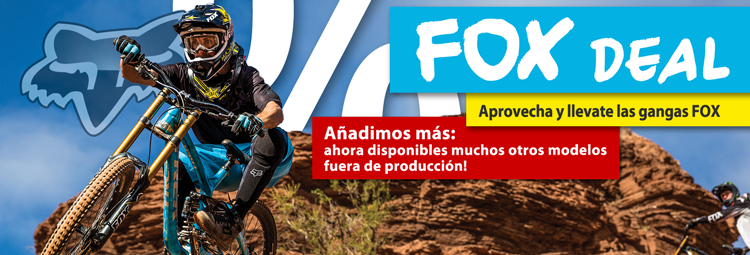 Comprar bicicleta & ropa tiempo libre FOX  en descuento