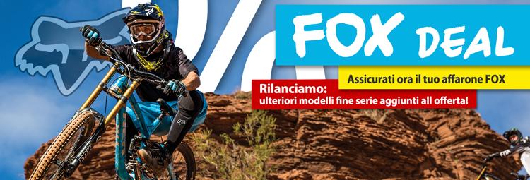 FOX abbigliamento bici e tempo libero in Sale