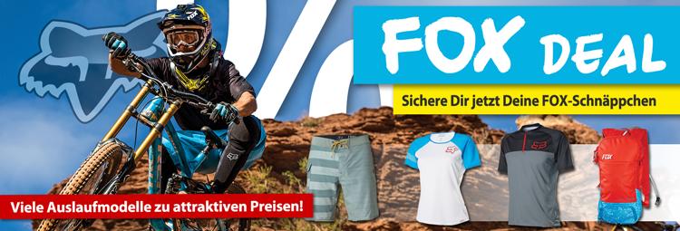 FOX Fahrrad- & Freizeitbekleidung im Sale