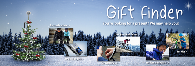 Gift finder - best ideas for cyclists