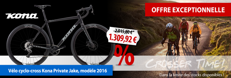 Offre exceptionnelle : cyclo-cross Kona