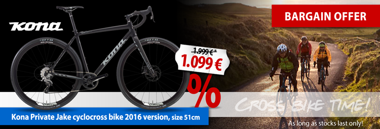 Bargain offer: Kona Private Jake cyclocross bike