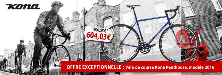 Offre exceptionnelle : Vélo de course Kona Penthouse