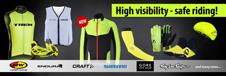 High visibility - save riding