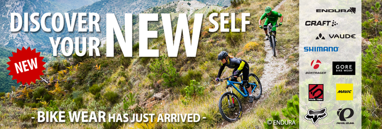 New collections: Brand-new bike apparel from top brands