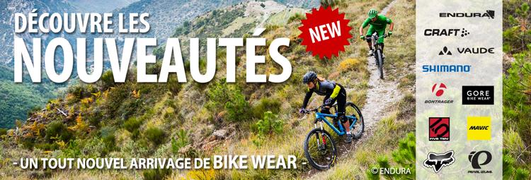 Nouvelles collections : tout nouveaux vêtements de cyclisme de grandes marques