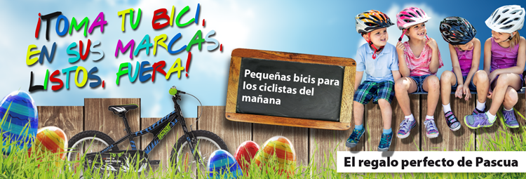 Perfect Easter gift: Order kids bikes now