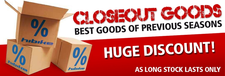 Closeout goods
