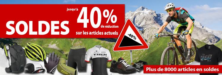 SSV Angebote - aktuelle Fahrradbekleidung, Fahrradteile & Zubehör günstig! Bis 40% sparen online bei hibike.de