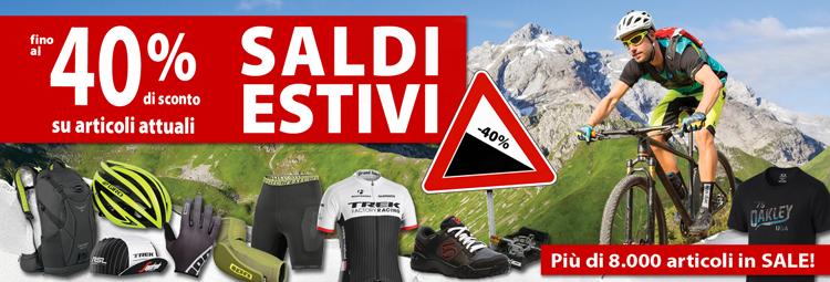 Offerte Saldi Esteivi - abbigliamento bici attuale, componenti & accessori a prezzi ridotti! Risparmia fino al 40% online da hibike.it