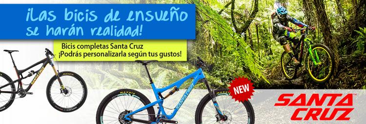 Bicis completas y personalizadas Santa Cruz