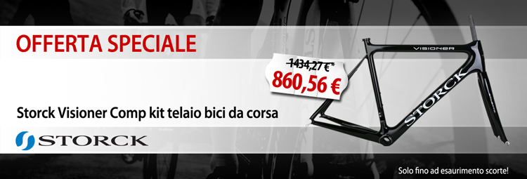 Offerta speciale: Storck kit telaio bici da corsa