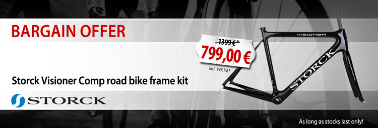 Bargain offer: Storck road bike frame kit
