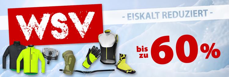 WSV Angebote Fahrradbekleidung, Fahrradteile & Zubehör günstig! Bis 60% sparen online bei hibike.de