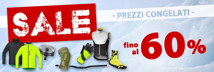 Offerte Saldi Invernali abbigliamento bici, componenti bici & accessori scontati! Risparmia fino al 60% comprando online da hibike.it