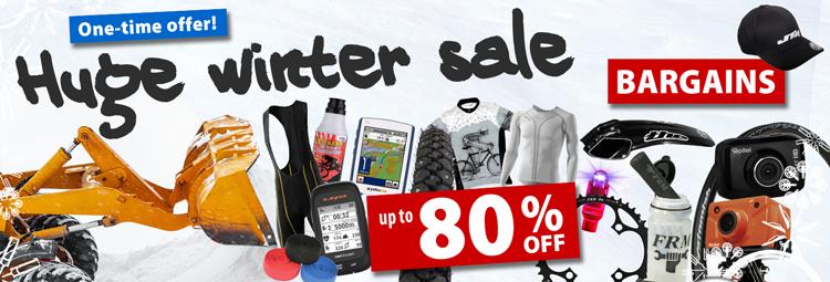 Huge winter sale