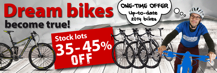 Dream bikes up to 45% off