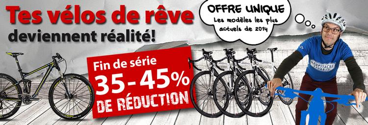 GJusqua 45% de réduction sur des vélos de rêve