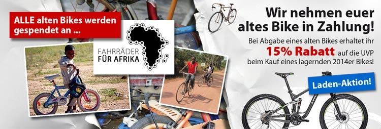 Fahrräder für Afrika