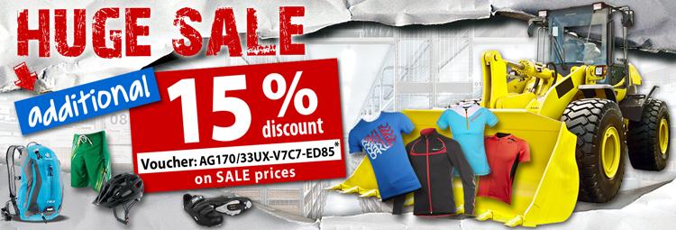 Huge Sale -15%