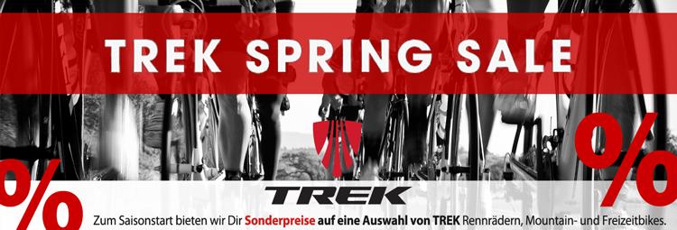 Trek Spring Sale 2016 - jetzt sparen