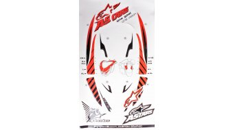 Alpinestars Graphic Kit Neck Support SB Ersatzteil