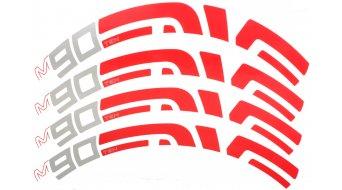 ENVE MTB 90/10 Aufkleber-Satz (für einen Laufradsatz)