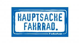 HIBIKE  Hauptsache Fahrrad. sticker )