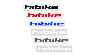 HIBIKE writing sticker glanz black