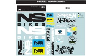 NS Bikes Stickerset Merchandise Mod. 2015