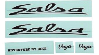 Salsa Vaya Travel cuadro Decal Kit juego de pegatinas