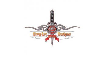 Troy Lee Designs Dagger 15cm x 20cm, pegatina