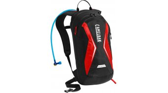 Camelbak Blowfish zaino idrico black/racing red (volume: erweiterbar 11-18L+2L sebatoio )