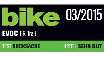 EVOC Freeride Trail Team 20L Rucksack mit Anti-Impact System Gr. S petrol/red/ruby Mod. 2016