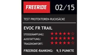 EVOC Freeride Trail 20L Rucksack mit Anti-Impact System Gr. S black Mod. 2016