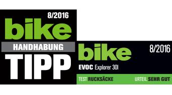 EVOC Explorer 30L Rucksack black/mud Mod. 2016