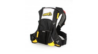 Leatt H3 mochila con sistema hidratante negro