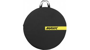 Mavic Road bolso para ruedas negro/amarillo