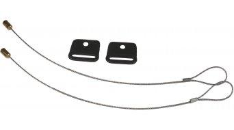 Ortlieb accesorio para alforjas QL2-cable de seguridad color plata