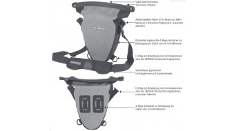 Ortlieb Aqua-Zoom bolso para cámara de fotos graphit/negro(-a) (Volumen:2.8L)