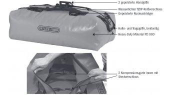 Ortlieb Big-Zip Expeditionstasche schwarz (Volumen:140L)