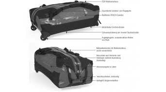 Ortlieb Duffle RS bolsa de viaje maleta con ruedas